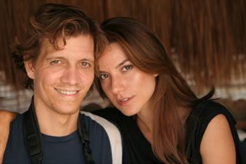 Roberto & Mina on photoshoot in Brazil